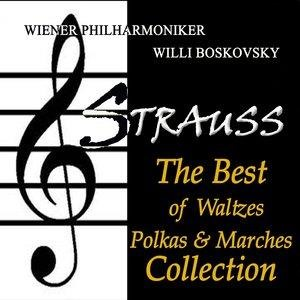 Альбом: Willi Boskovsky - Strauss: The Best of Waltzes, Polkas & Marches Collection