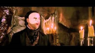Смотреть клип песни: Andrew Lloyd Webber - Phantom Of The Opera