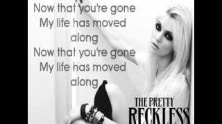Смотреть клип песни: The Pretty Reckless - Since You're Gone