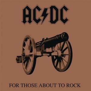 Альбом AC/DC - For Those About to Rock (We Salute You)