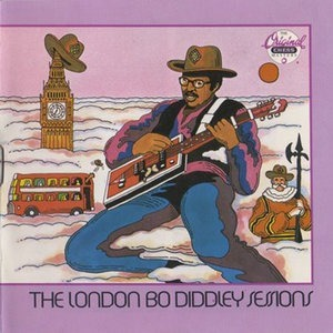 Альбом Bo Diddley - The London Bo Diddley Sessions