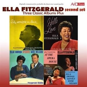 Альбом: Ella Fitzgerald - Three Classic Albums Plus (Like Someone in Love / Hello Love / Ella Swings Brightly with Nelson)