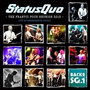 Альбом Status Quo - Back2SQ1-The Frantic Four Reunion 2013