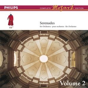 Альбом: Academy of St. Martin in the Fields - Mozart: The Serenades for Orchestra, Vol.2