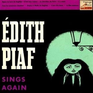"Альбом: Edith Piaf - Vintage French Song Nº 81 - EPs Collectors, ""Sing Again"""