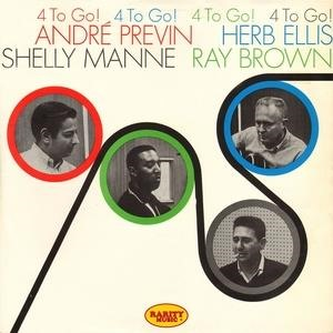 Альбом: Andre Previn - 4 to Go!