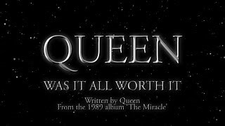 Клип Queen - Was It All Worth It