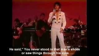 Смотреть клип песни: Elvis Presley - Walk a Mile in My Shoes (August 12 - Midnight Show)
