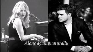 Смотреть клип песни: Michael Bublé - Alone Again (Naturally)