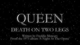 Клип Queen - Death On Two Legs (Dedicated To...)