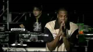 Смотреть клип песни: Jay-Z - Points Of Authority/99 Problems/One Step Closer
