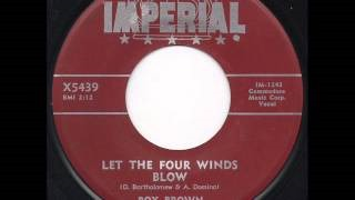 Клип Roy Brown - Let the Four Winds Blow