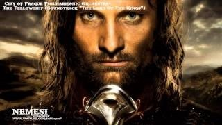 Смотреть клип песни: The City of Prague Philarmonic Orchestra - Lord of the Rings: The Fellowship