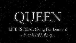 Клип Queen - Life Is Real (Song For Lennon)