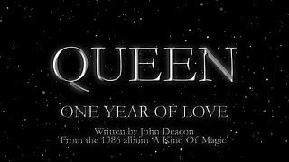 Клип Queen - One Year Of Love