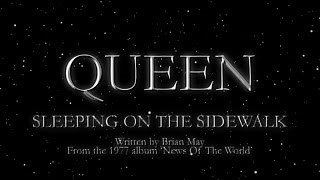 Queen - Sleeping On The Sidewalk