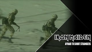 Смотреть клип песни: Iron Maiden - Afraid To Shoot Strangers