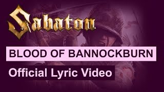 Sabaton - Blood of Bannockburn