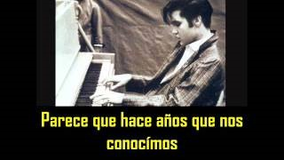 Смотреть клип песни: Elvis Presley - Happy, Happy Birthday Baby [Reprise #2] (Private Home Recordings - Eddie Fadal Residence, Waco Texas - May 1958)