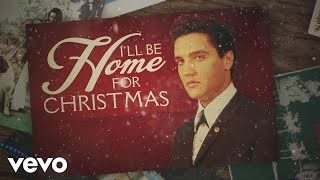 Смотреть клип песни: Elvis Presley - I'll Be Home for Christmas