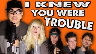 Смотреть клип песни: Walk Off The Earth - I Knew You Were Trouble