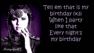 Клип Selena Gomez - Birthday