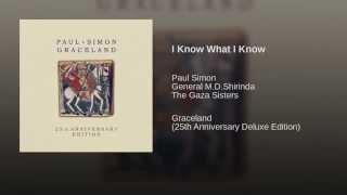 Paul Simon - I Know What I Know