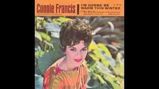 Смотреть клип песни: Connie Francis - I'm Gonna Be Warm This Winter