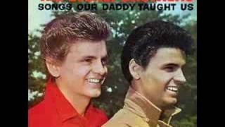 Клип The Everly Brothers - Down in the Willow Garden