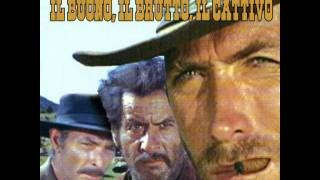 Смотреть клип песни: Ennio Morricone - The good, the bad and the ugly - Il buono, il brutto, il cattivo