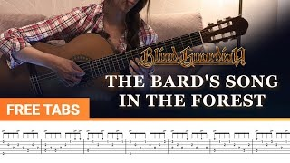 Смотреть клип песни: Blind Guardian - The Bard's Song - In the Forest