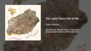 Peter Murphy - The Light Pours Out Of Me